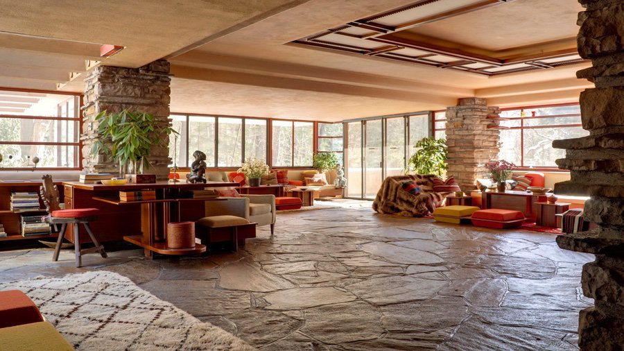 Fallingwater Reopens Inside of House